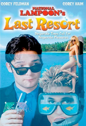 Corey Haim, Corey Feldman, Last Resort Poster