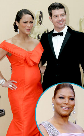Robin Thicke, Paula Patton, Queen Latifah