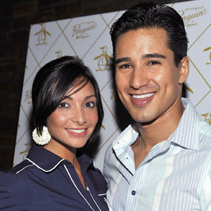 Courtney Laine Mazza, Mario Lopez