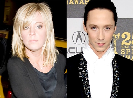 Kate Gosselin, Johnny Weir