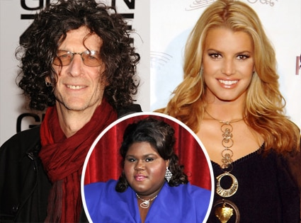 Jessica Simpson, Howard Stern, Gabourey Sidibe