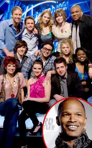 American Idol, Top 12, Jamie Foxx