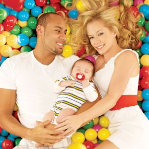 Kendra Wilkinson, Hank Baskett, Hank Jr.