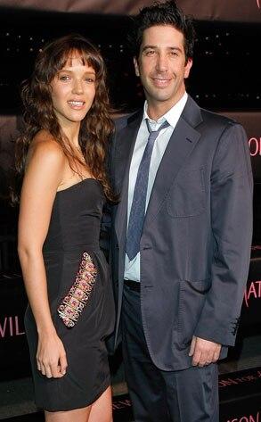 David Schwimmer, Zoe Buckman