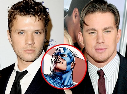 Ryan Phillippe, Channing Tatum, Captain  America