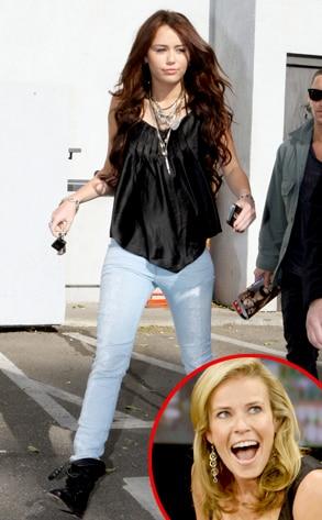 Miley Cyrus, Chelsea Handler
