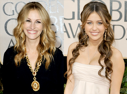 Julia Roberts, Miley Cyrus
