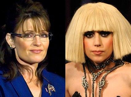 Sarah Palin, Lady Gaga