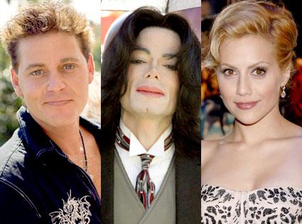 Corey Haim, Michael Jackson, Brittany Murphy