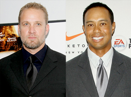 Jesse James, Tiger Woods