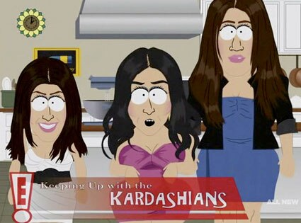 Kardashians, South Park