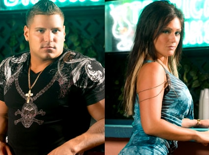 Ronnie Magro, Jenni JWOWW Farley, Jersey Shore