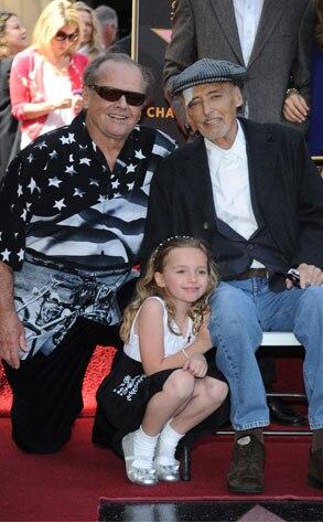 Jack Nicholson, Dennis Hopper, Galen Grier Hopper