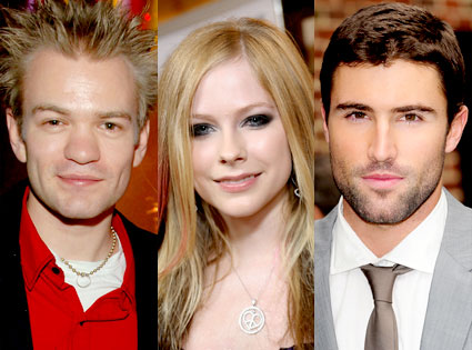 Deryck Whibley, Avril Lavigne, Brody Jenner