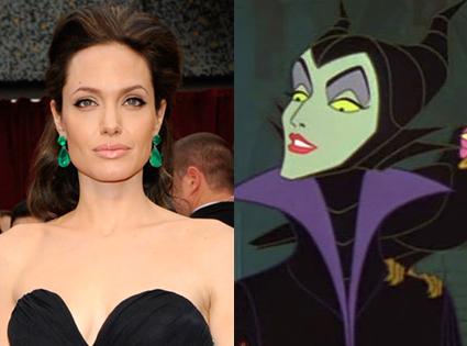 Angelina Jolie, Maleficent, Sleeping Beauty