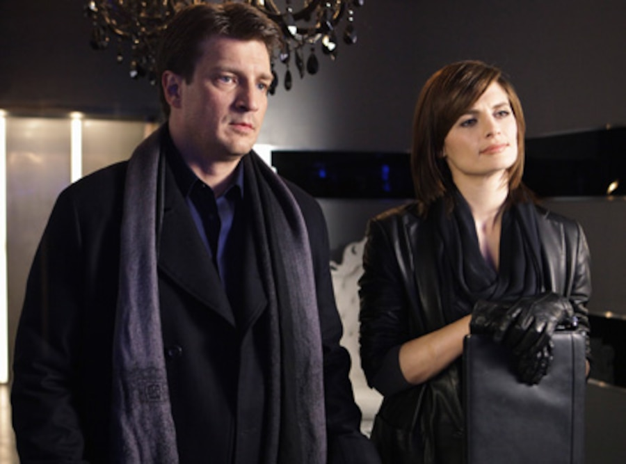 Nathan Fillion, Stana Katic, Castle