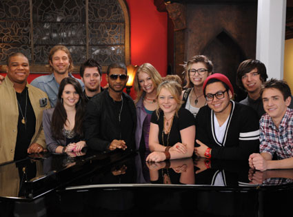 American Idol Top 10, Usher