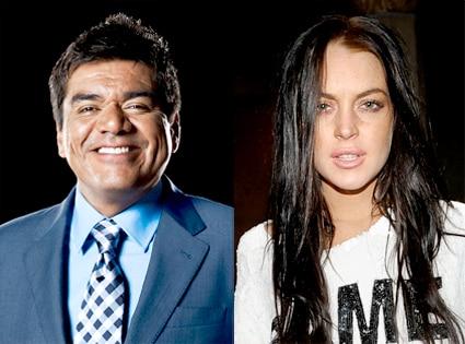 George Lopez, Lindsay Lohan