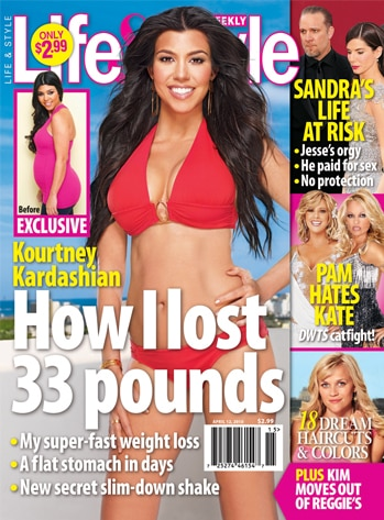 Kourtney Kardashian, Life and Style cover