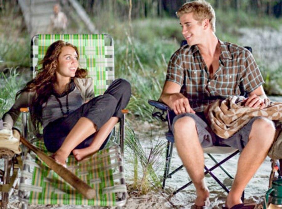 The Last Song, Miley Cyrus, Liam Hemsworth