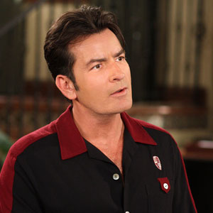 TWO AND A HALF MEN, Charlie Sheen