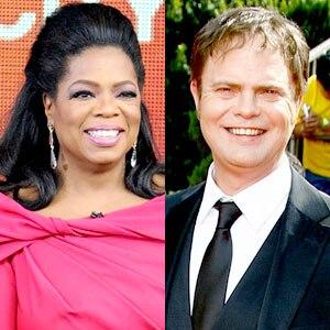 Oprah Winfrey, Rainn Wilson