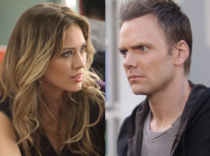 Hilary Duff, Joel McHale, Community