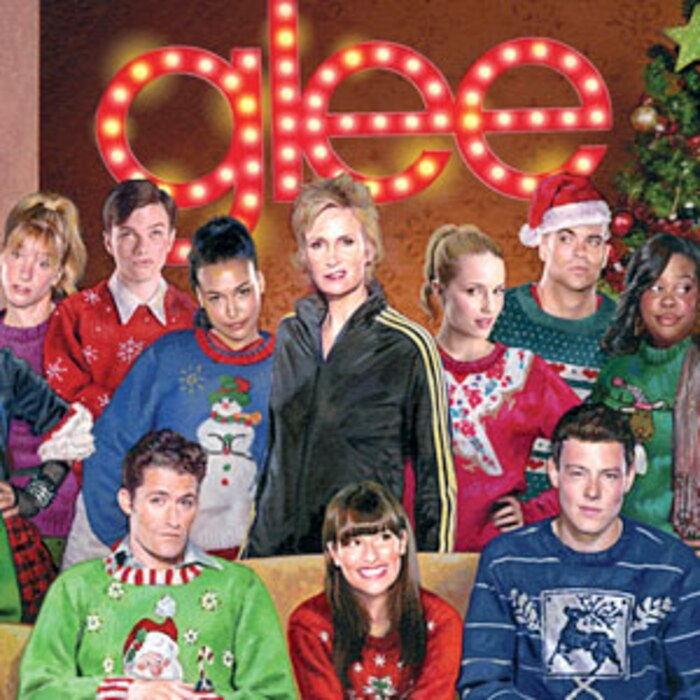 Glee Christmas Album, Christmas Card
