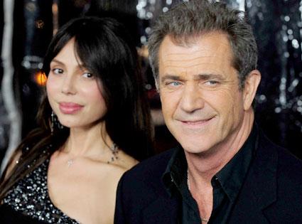 Oksana Grigorieva, Mel Gibson