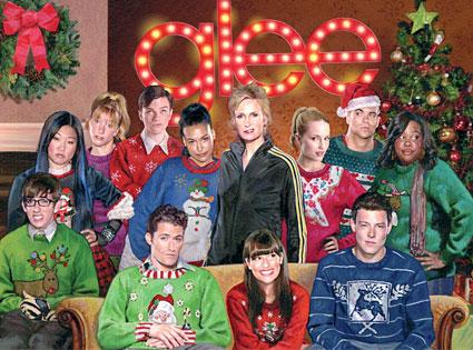 Glee Christmas Album, Christmas Card