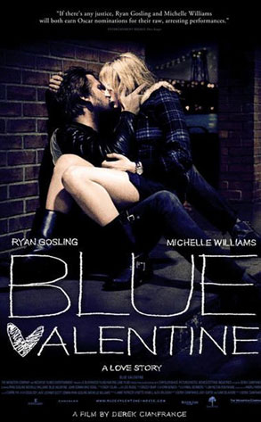 Blue Valentine, Ryan Gosling, Michelle WIlliams
