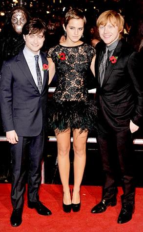 Daniel Radcliffe, Emma Watson, Rupert Grint