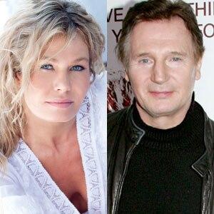 Kasia Wolejnio, Liam Neeson