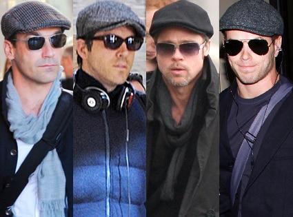 Jon Hamm, Ryan Reynolds, Brad Pitt, Kellan Lutz