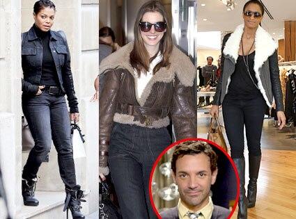 Janet Jackson, Anne Hathaway, Ciara, George Kotsiopoulos