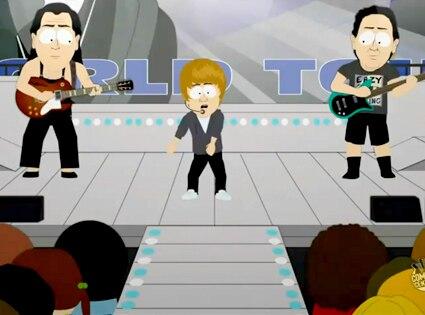 Justin Bieber, South Park
