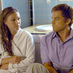Michael C. Hall, Julia Stiles, Dexter