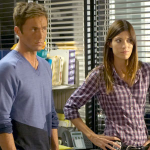 Jennifer Carpenter, Desmond Harrington, Dexter
