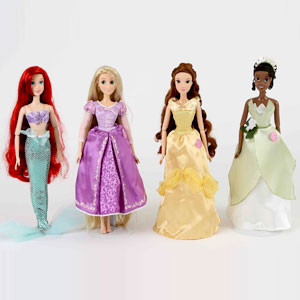 Disney Singing Princesses
