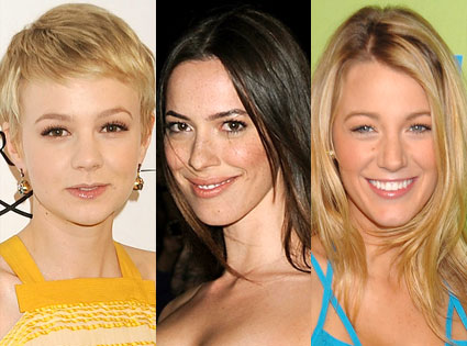 Blake Lively, Carey Mulligan, Rebecca Hall