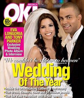 OK Magazine, Eva Longoria, Tony Parker