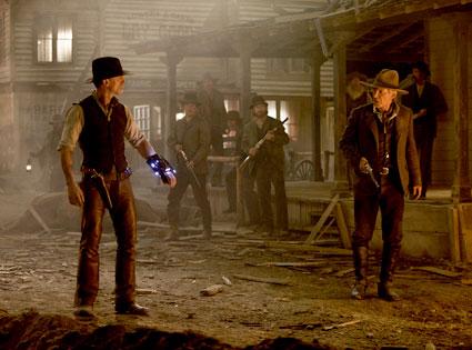 Cowboys and Aliens, Daniel Craig, Harrison Ford