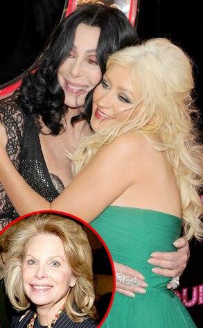 Christina Aguilera, Cher, Ronni Chasen