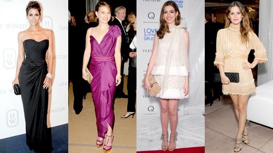 Halle Berry, Natalie Portman, Anne Hathaway, Rachel Bilson
