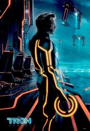 Jeff Bridges, Tron Legacy Poster