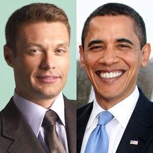 Barack Obama, Ryan Seacrest