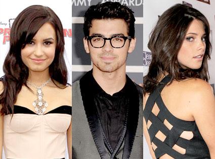 Demi Lovato, Joe Jonas, Ashley Greene