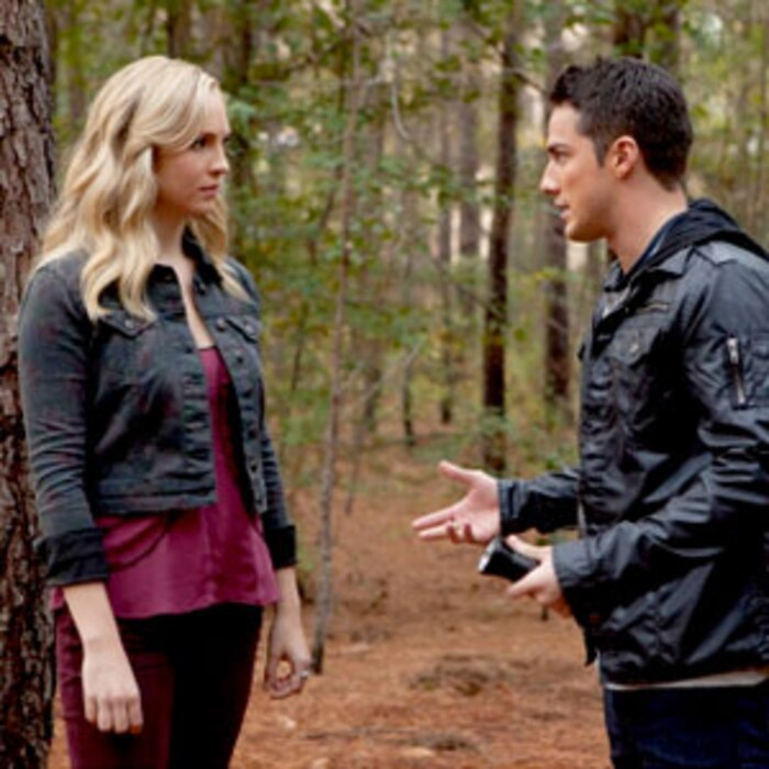 Candice Accola, Michael Trevino, The Vampire Diaries