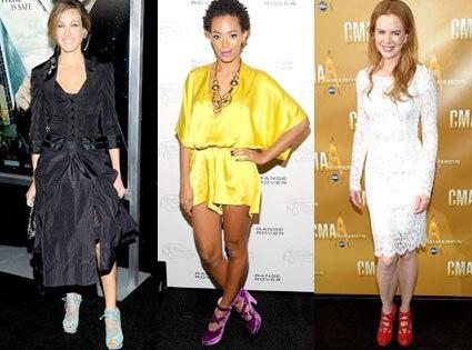 Sarah Jessica Parker, Solange Knowles, Nicole Kidman