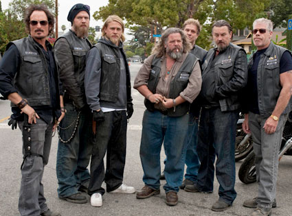 Sons of Anarchy, Kim Coates, Ryan Hurst, Charlie Hunnam, Mark Boone Jr., Tommy Flanagan, Ron Perlman